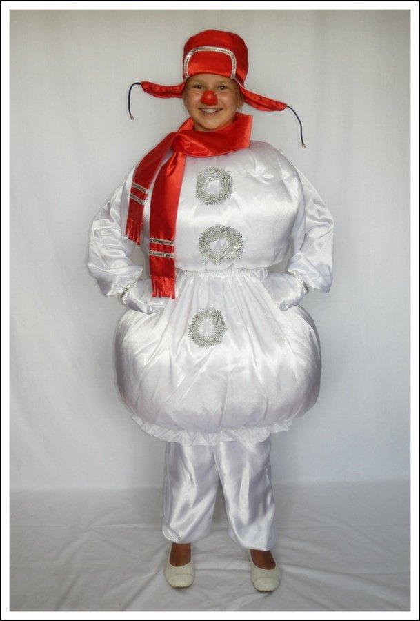 Взрослый костюм снеговика своими руками 91