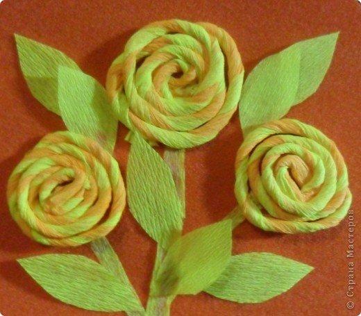 Розы из скрученной бумаги своими руками