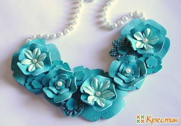цветы из ремешков своими руками