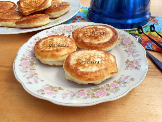 Оладьи без кефира пышные рецепт пошагово