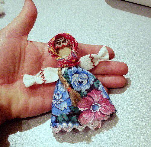 Кукла из лоскутков своими руками мастер класс