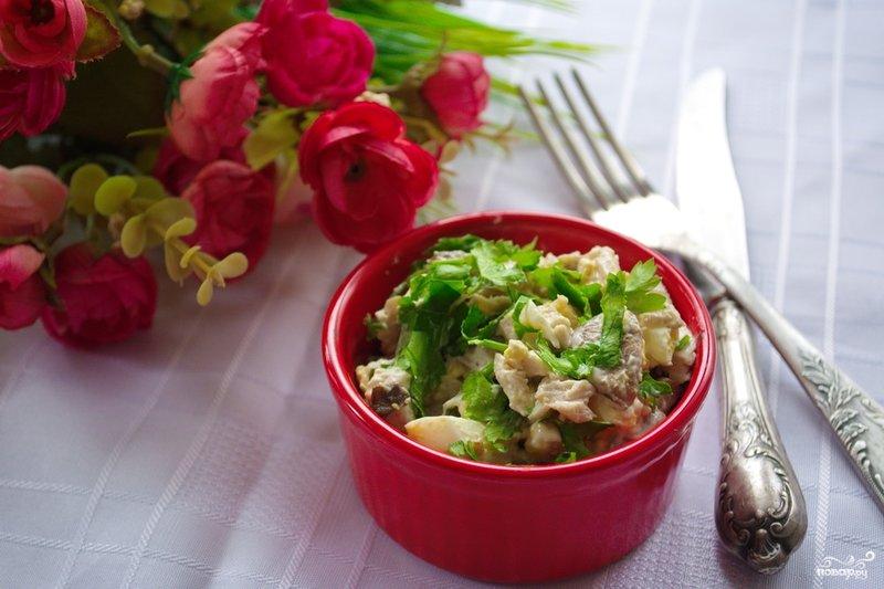 Рецепты новых и оригинальных салатов с