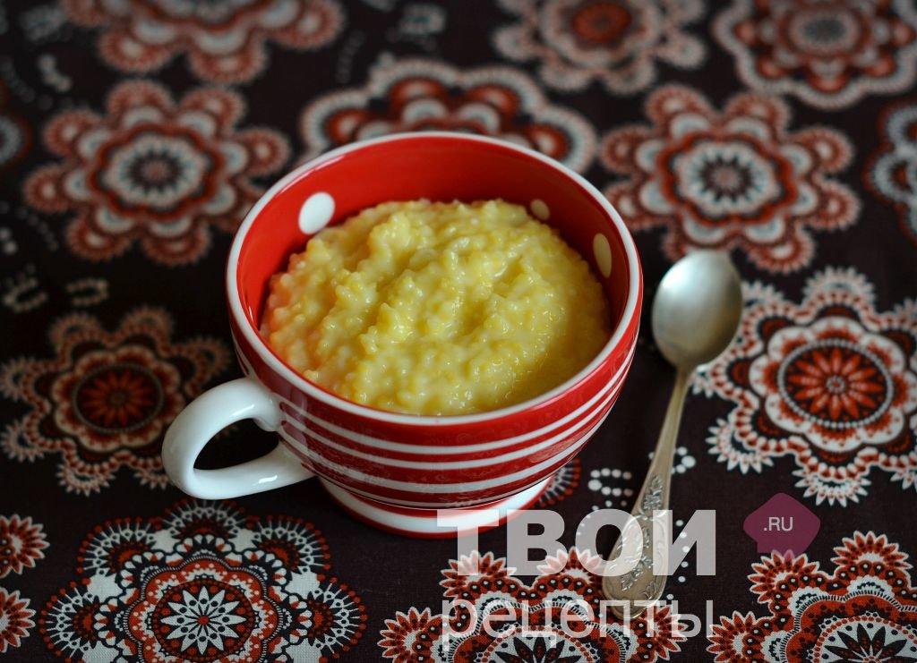 Вкусная кукурузная каша рецепт