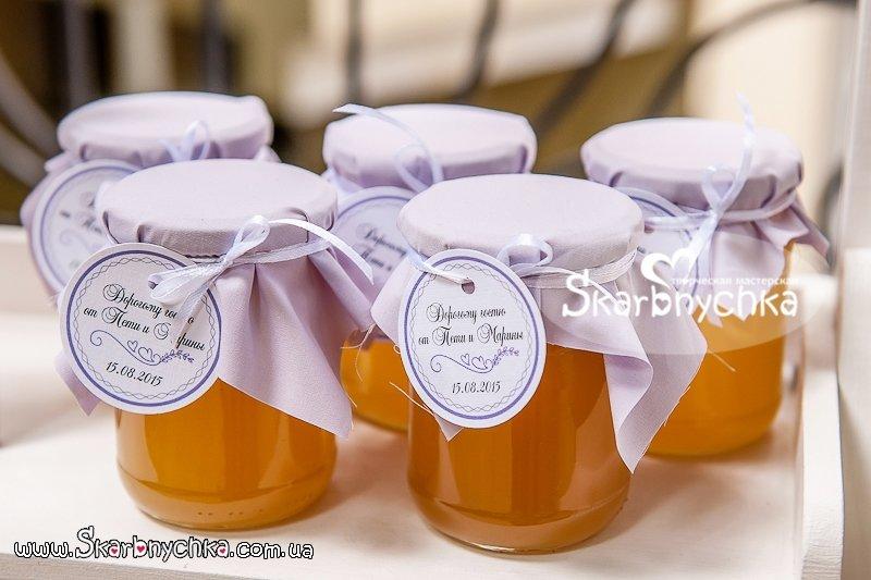 Подарок на свадьбу мёд 19