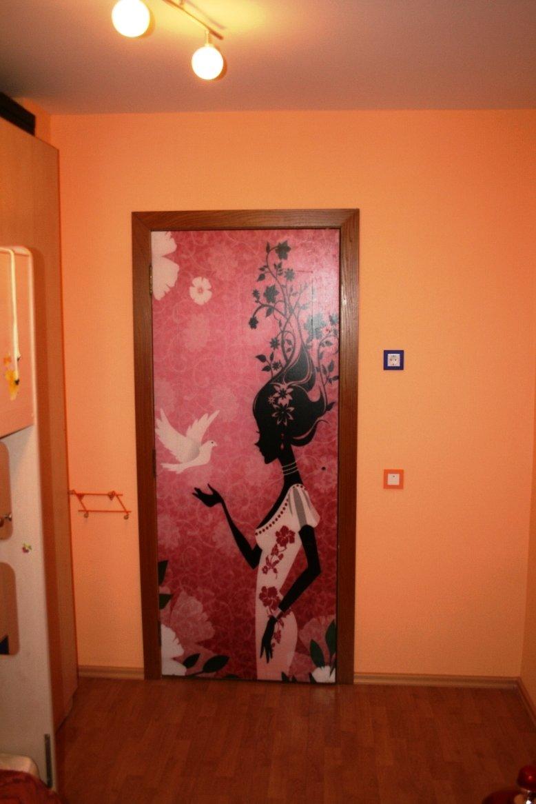 Как украсит дверь своими руками 264