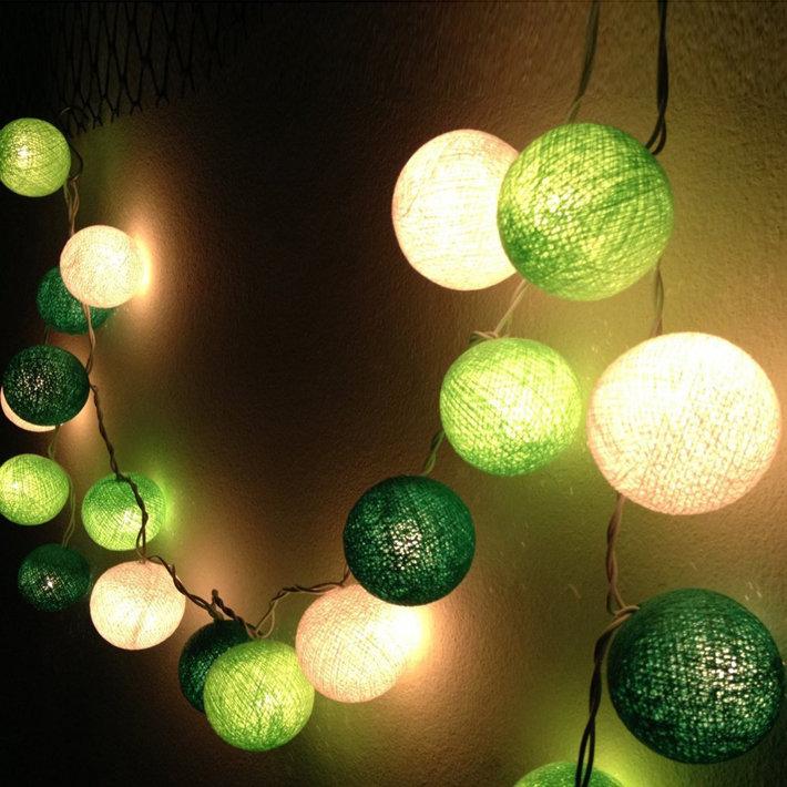 Как сделать светящиеся гирлянды 230