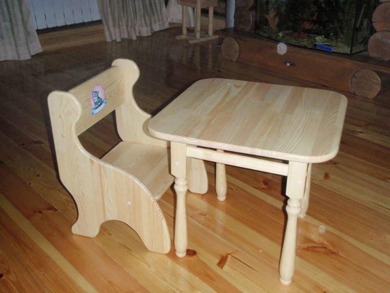 Столы своими руками из дерева для детей