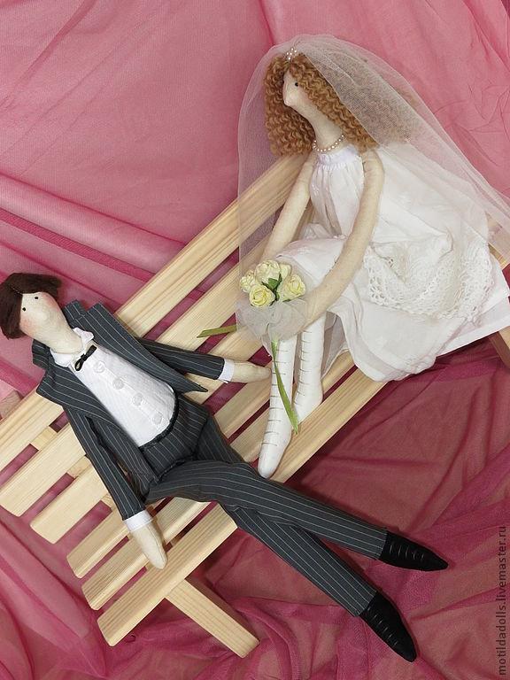 Жених и невеста тильда