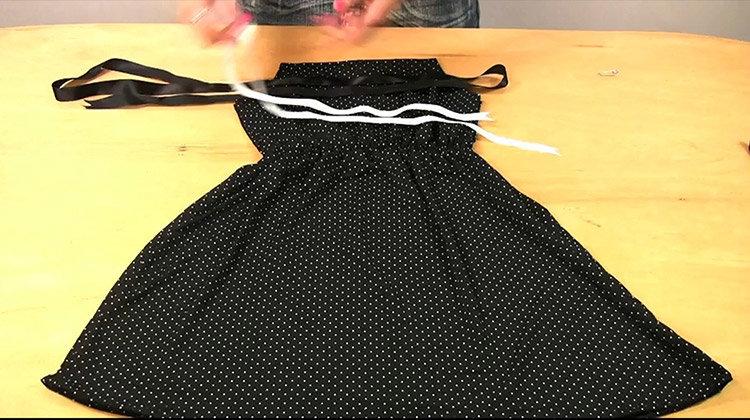 Как сшить себе платье на машинке 498