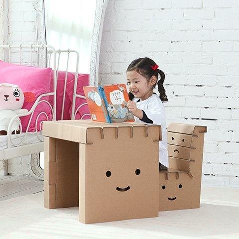 Мебель для маленьких игрушек своими руками из бумаги 89