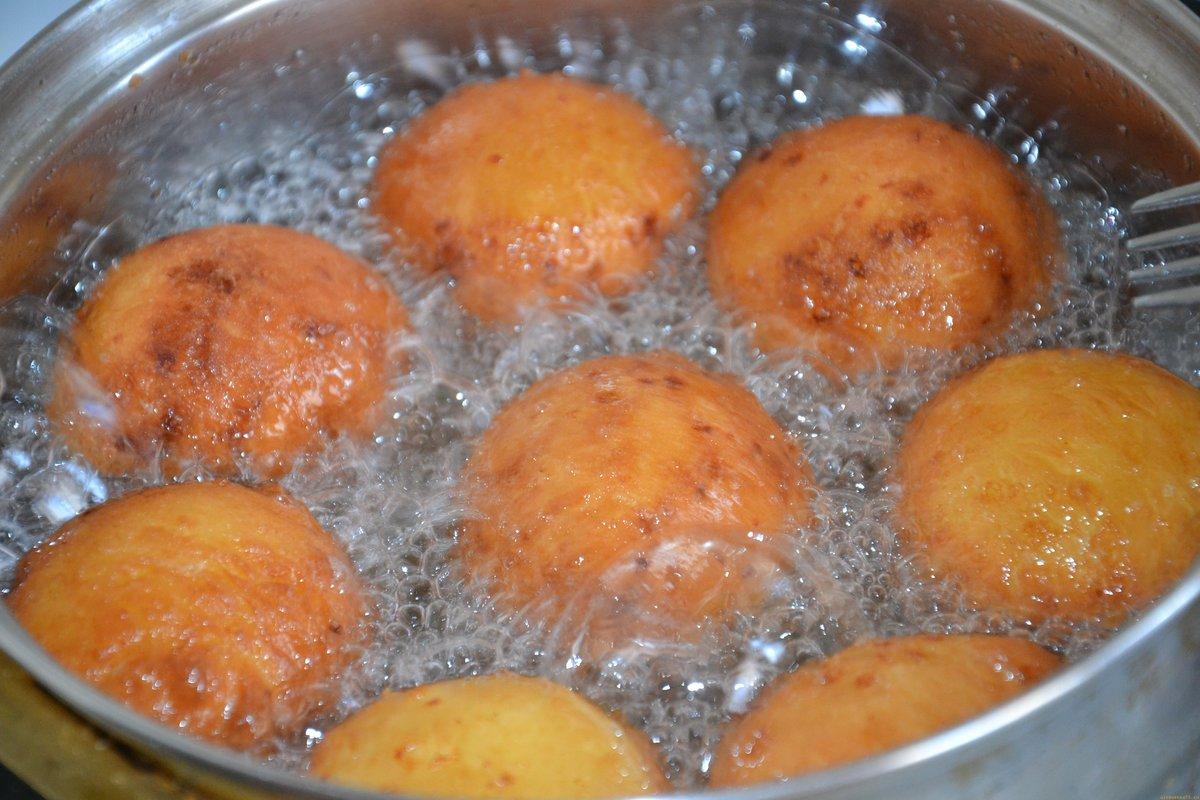 Пампушки рецепт из творога рецепт с фото пошагово
