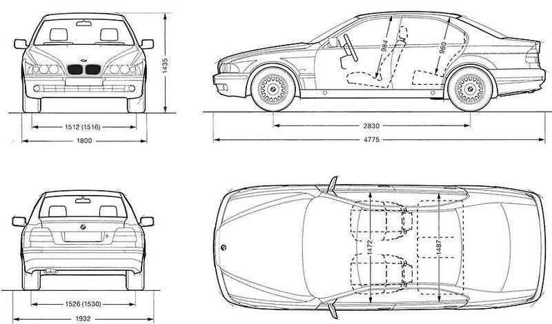 Автомобиль чертежи