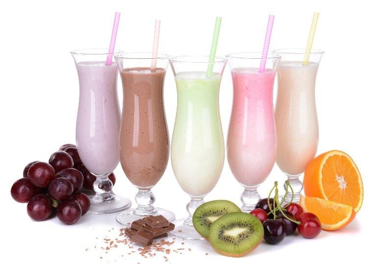 Как сделать молочный коктейль без мороженого и без фруктов