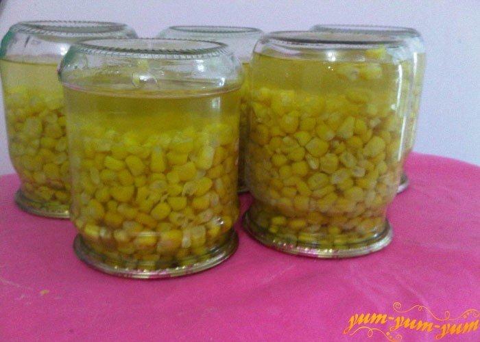 Консервировать кукурузы в домашних условиях