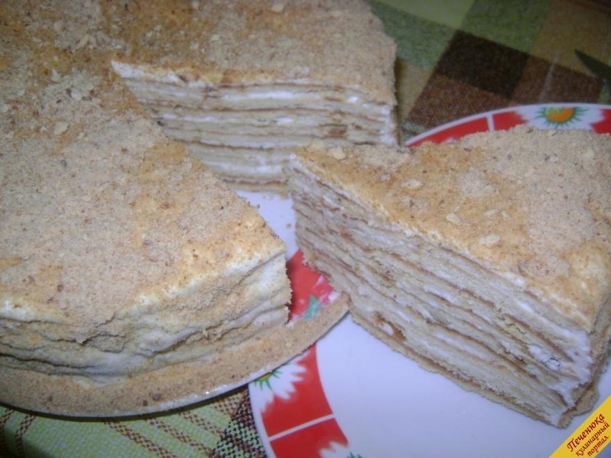 Торт медовый на сковороде пошаговый рецепт с фото