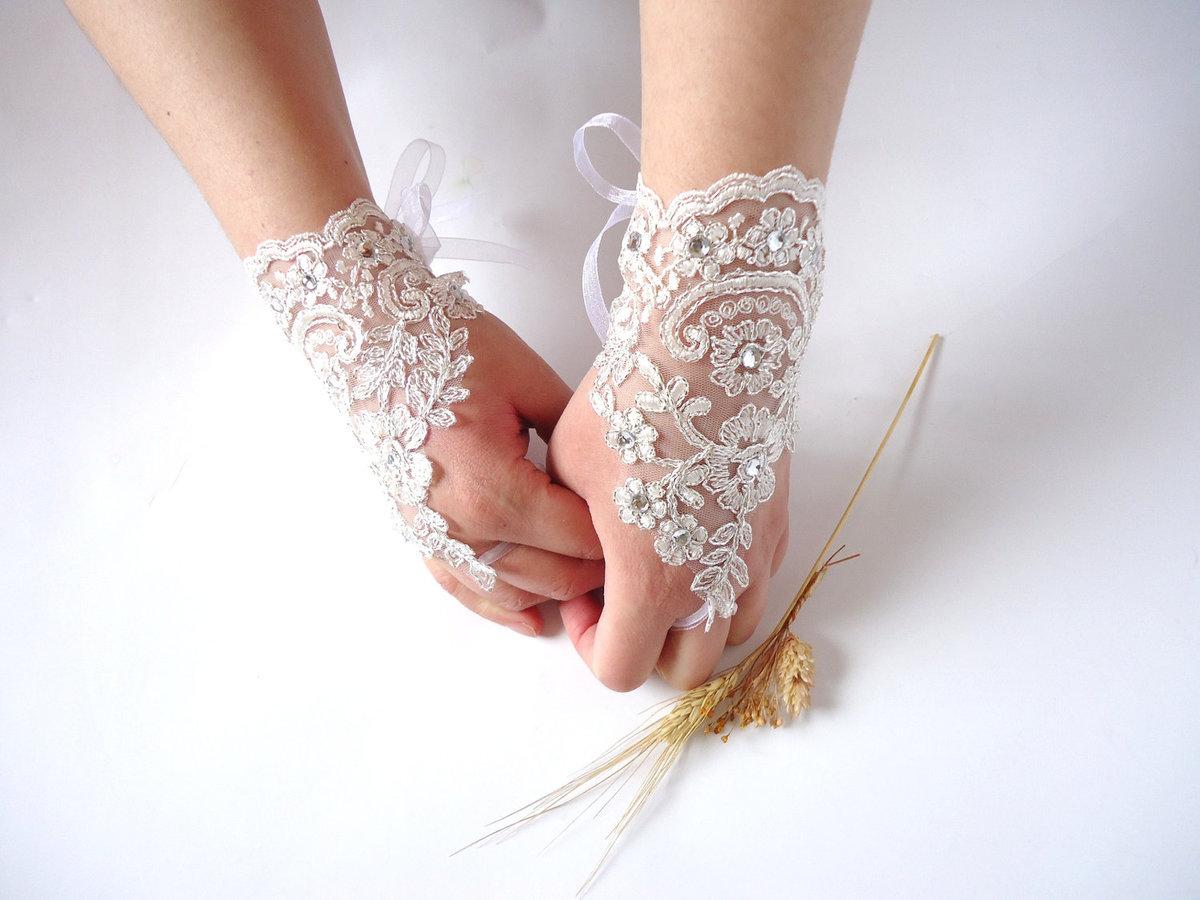 Свадебная митенка своими руками