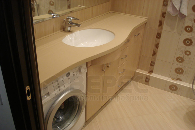 Ванные комнаты со столешницей дизайн