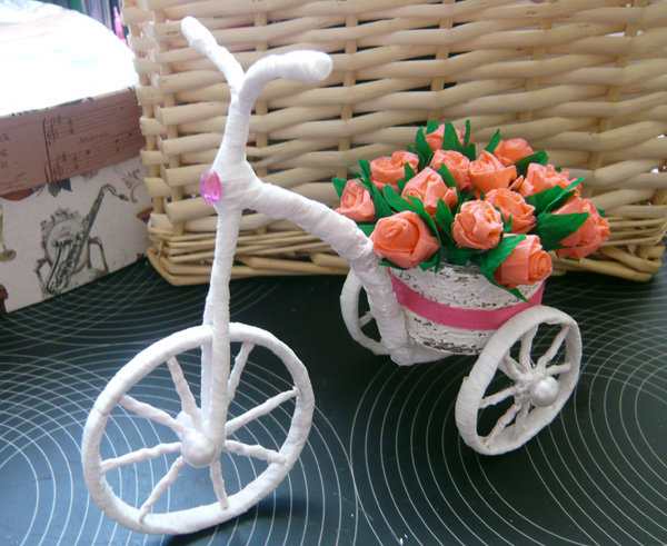 Подарок своими руками велосипед
