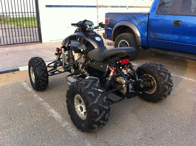 Квадроцикл из мотоцикла 6