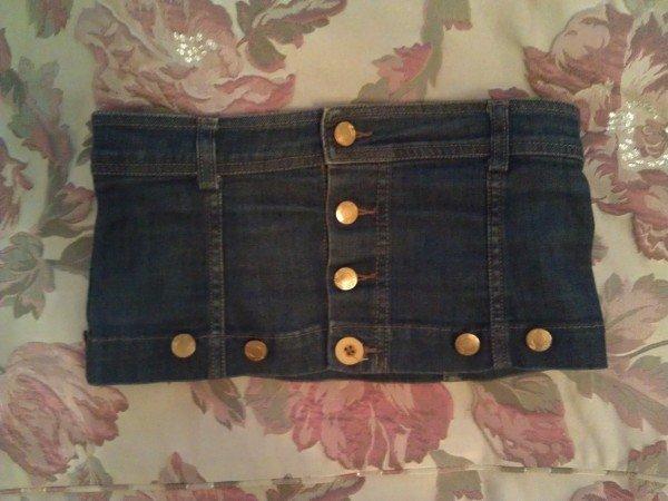 Строительный пояс своими руками из джинса 34