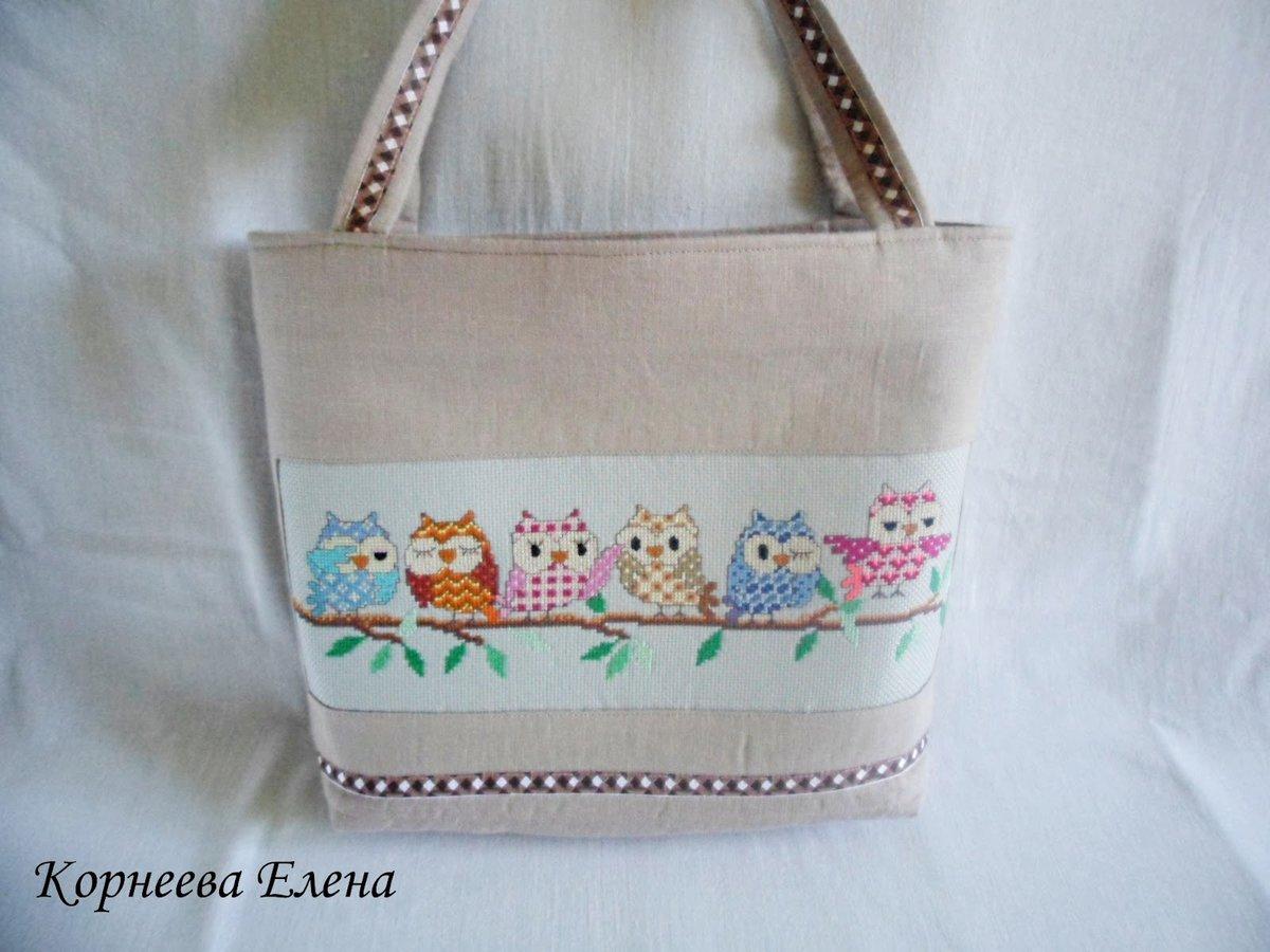 сумки с вышивкой крестом соки