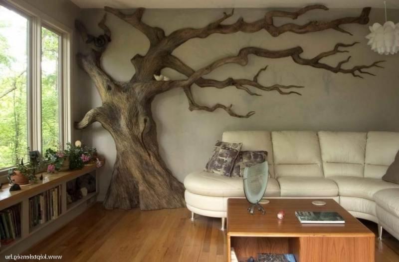 Дизайнерское дерево своими руками