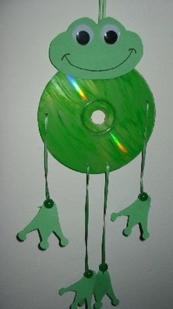 Поделки из диска сд