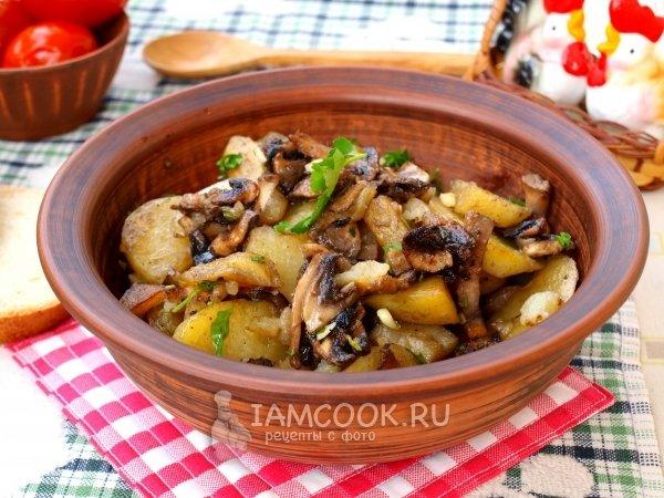 Картошка с со сметаной в мультиваркеы с фото