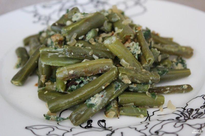 лобио из зеленой фасоли рецепт с фото