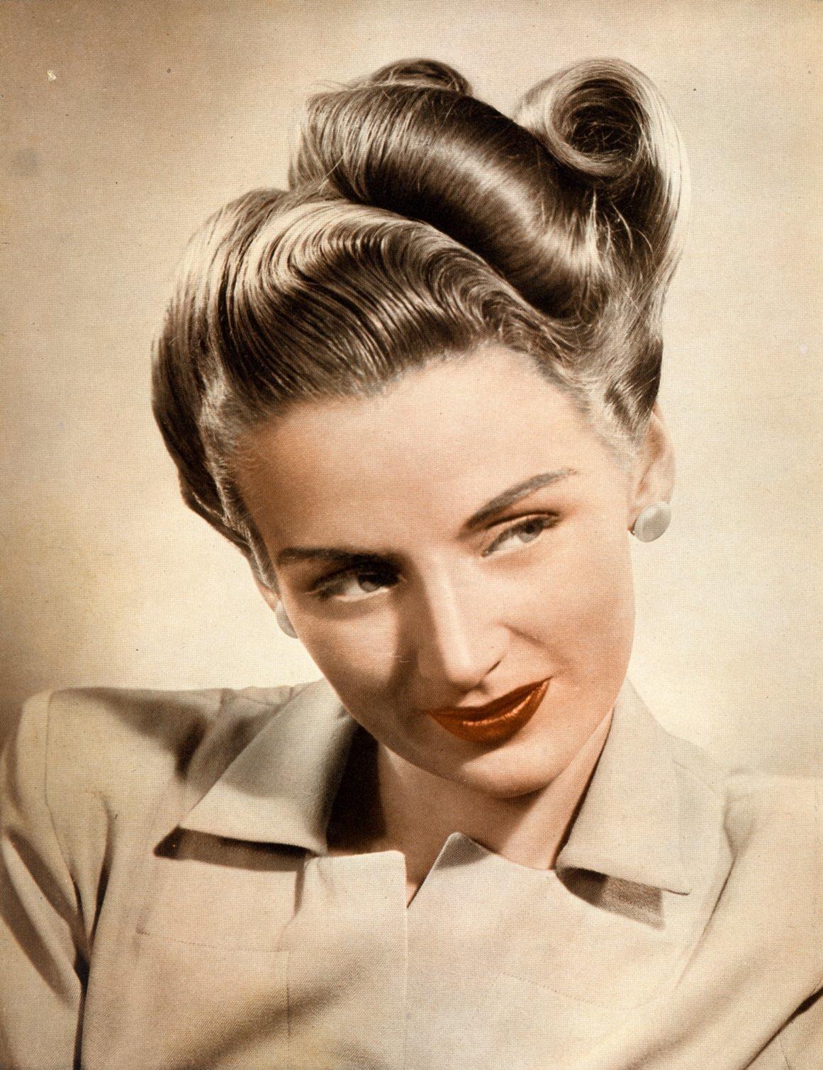Женские прически 40 х годов фото