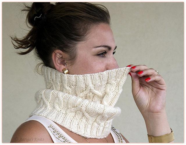Вязание шарф труба спицами