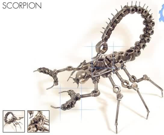 Сделать своими руками скорпиона