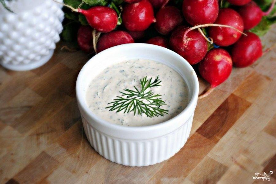 Сливочный соус рецепт для салата