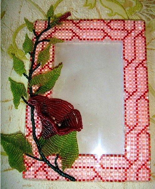 Рамка для картины из бисера схемы