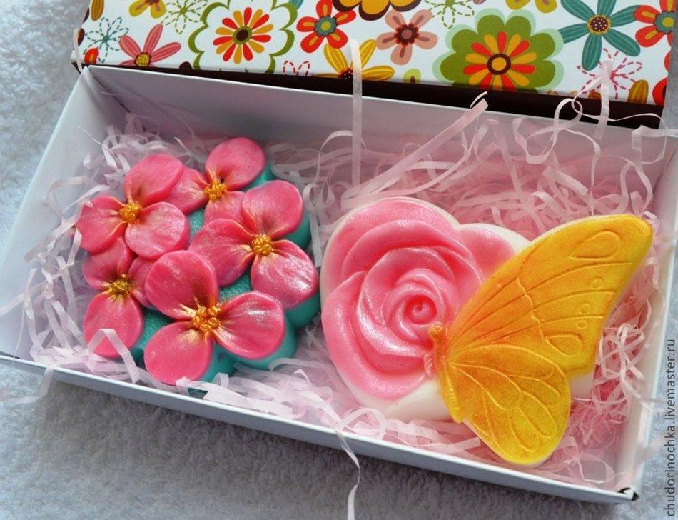 Мыло подарок своими руками для мам 103