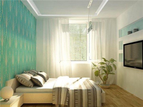 Дизайн спальни в хрущёвке своими руками