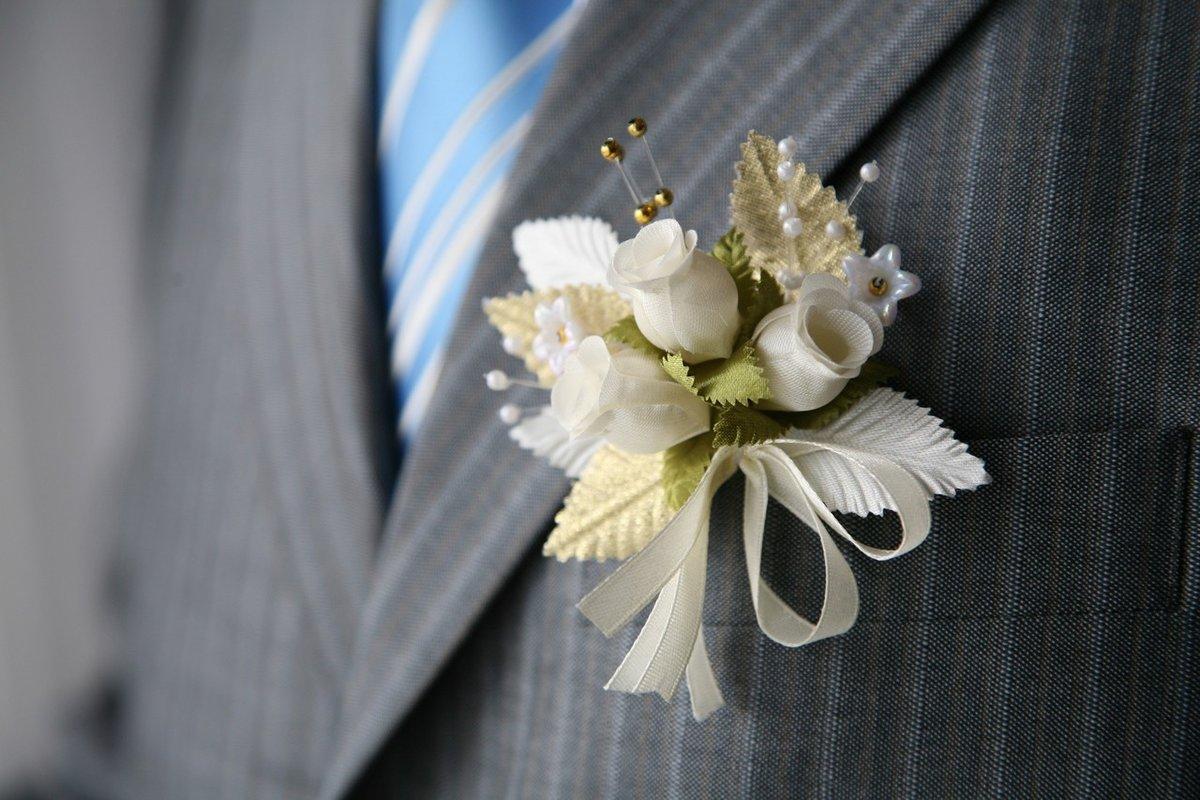 Цветы жениху и невесте своими руками
