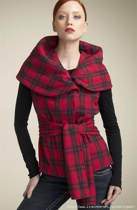 Сшить жилет из пальтовой ткани своими руками