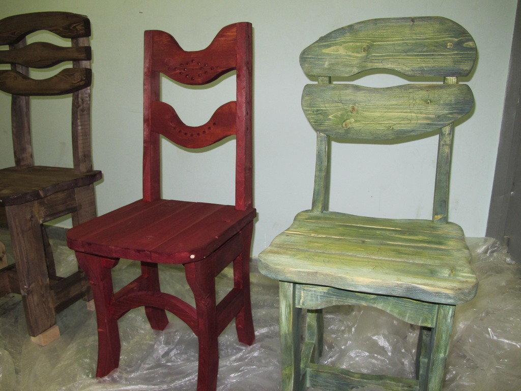 Оригинальные стулья своими руками 27