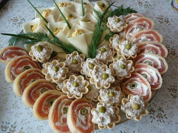 Оригинальные закуски с фото к праздничному столу