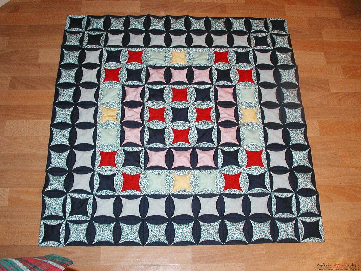 Сшить коврик своими руками из треугольников