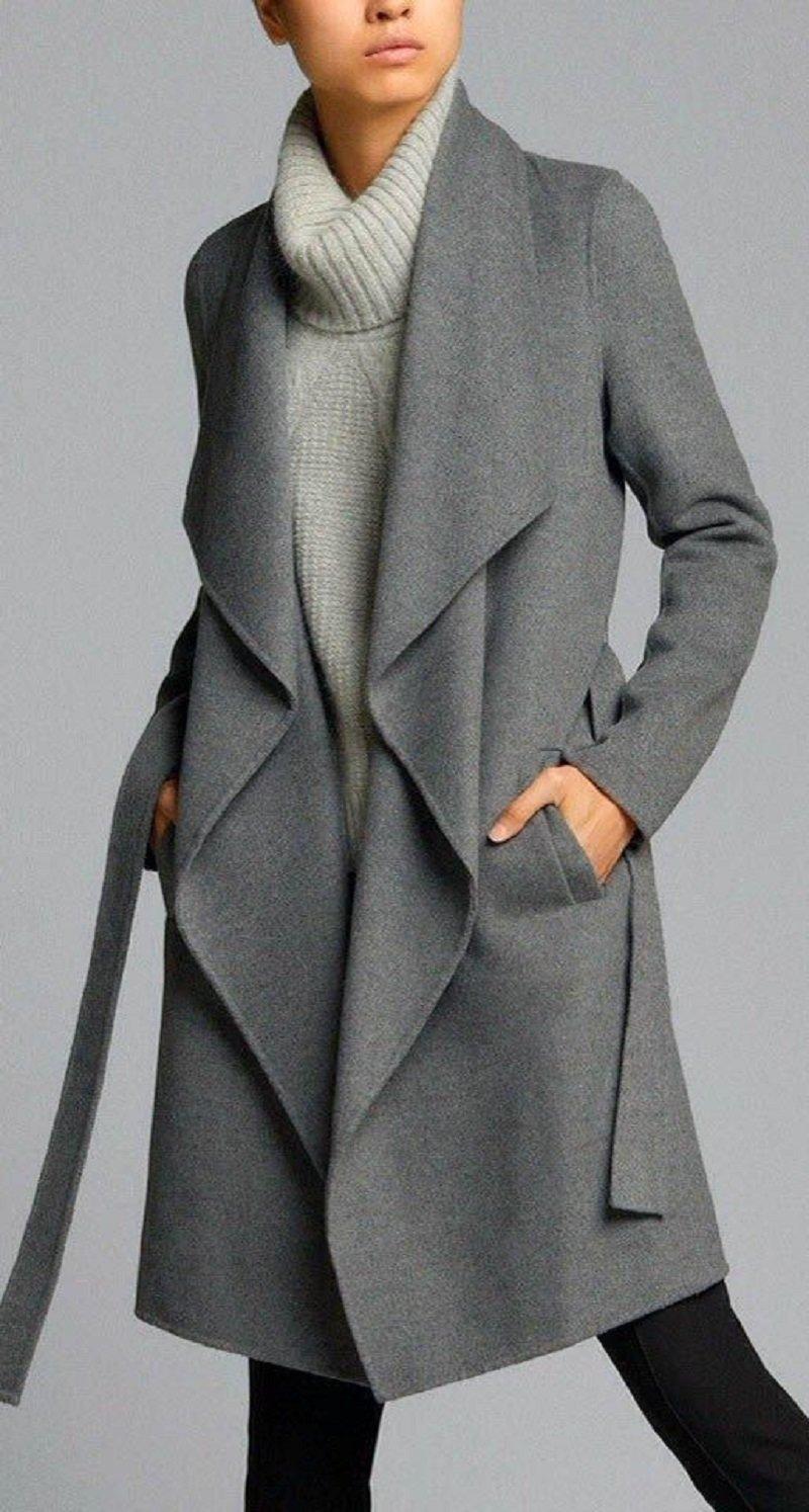 Пальто на одной пуговице сшить 33