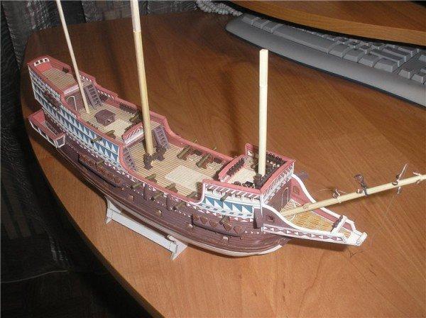 Макеты парусного корабля своими руками 17