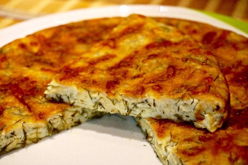 Быстрый пирог с сыром рецепт с
