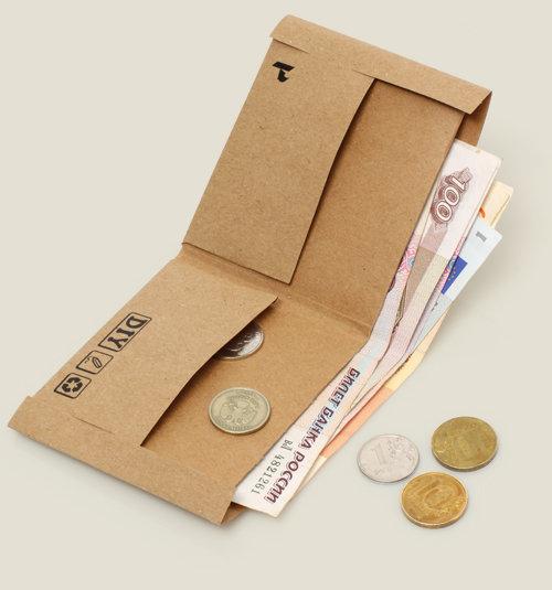 Кошелек для денег из бумаги своими руками