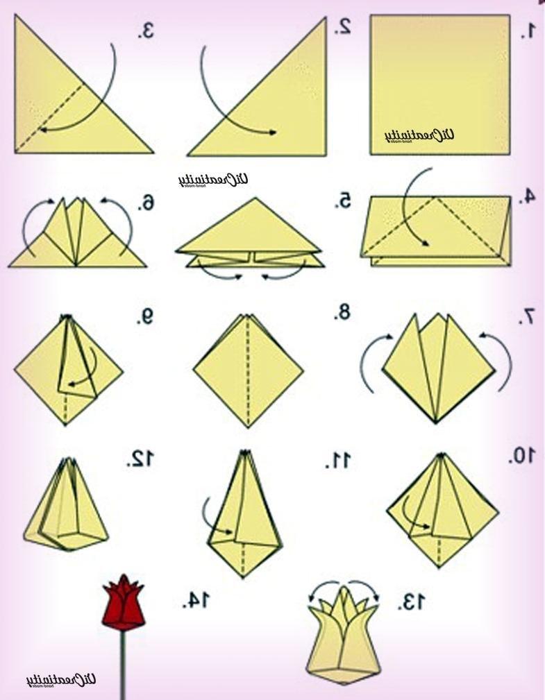 Поделки из бумаги своими руками инструкция 20