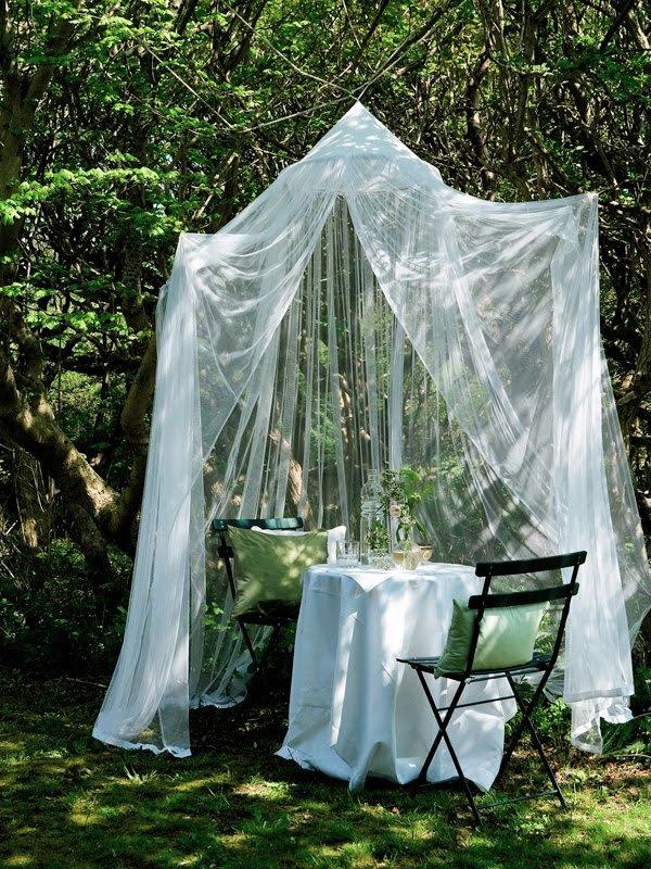 воздушный шатер в саду, для отдыха влюбленной пары - карточка от пользователя anna.deynega86 в Яндекс.Коллекциях