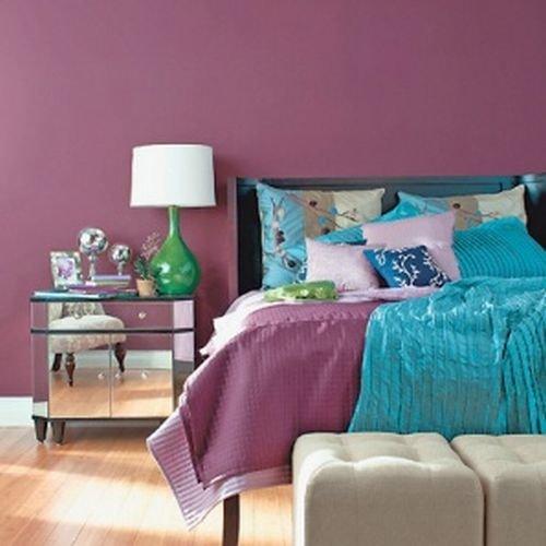 Комбинация цветов стен