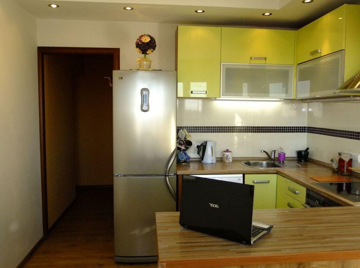Г образная кухня 12 квм дизайн