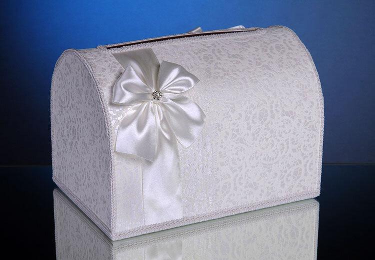 Как сделать свадебный сундук из коробки своими руками